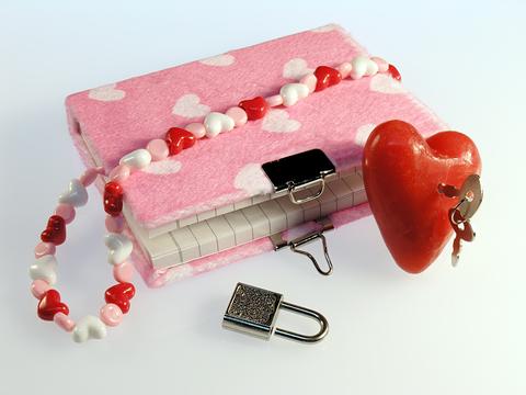 Как сделать свой личный дневник своими руками на замке
