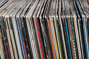 my vinyl collection